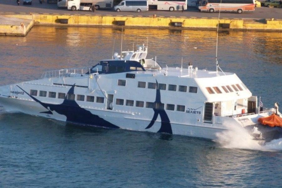 Μηχανική βλάβη στο πλοίο Sea Jet II με 300 επιβάτες