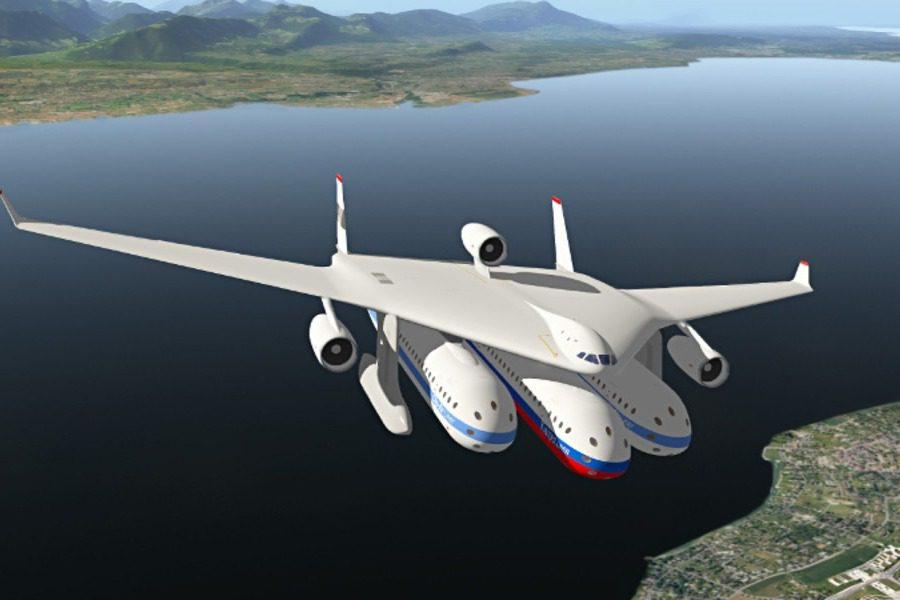 Τα σχέδια για αεροπλάνα‑κάψουλες που θα αλλάξουν τις αερομεταφορές