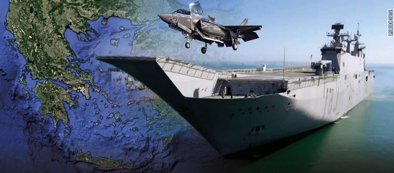 Δύο αεροπλανοφόρα και 24 F-35B STOVL εντάσσει μέσα στην επόμενη πενταετία το τουρκικό Ναυτικό στην δύναμή του!
