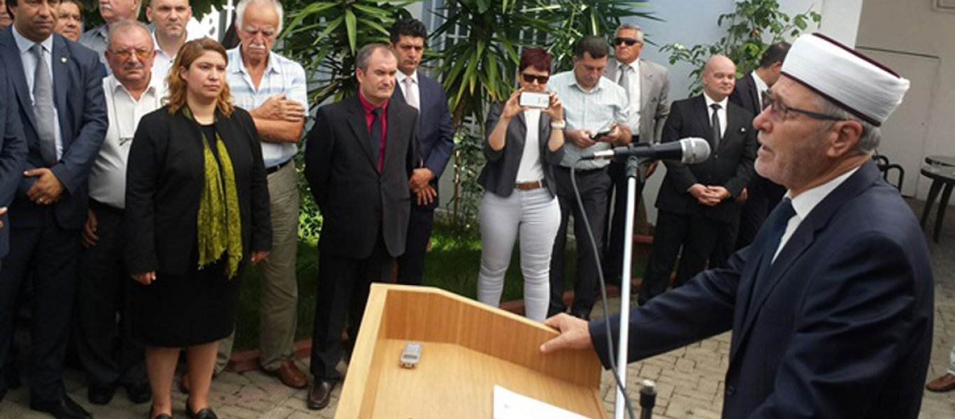 Ψευδομουφτής Κομοτηνής: «Εισβολέας ο ελληνικός Στρατός στην Ανατολία – Νίκη το σχίσιμο της Συνθήκης των Σεβρών»
