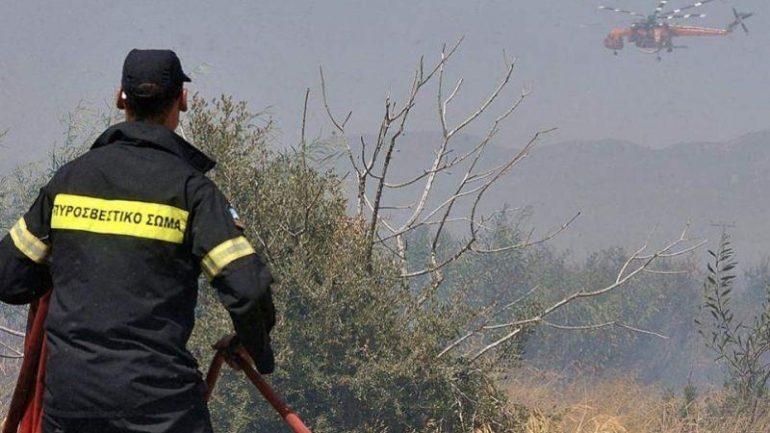 Ηλικιωμένος συνελήφθη για τη φωτιά στις Μέλαμπες