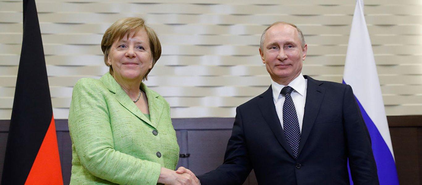 Κοινό μέτωπο Ρωσίας και Γερμανίας κατά των ΗΠΑ : «Θα αντιμετωπίσουμε μαζί κυρώσεις στον αγωγό Nord Stream 2»