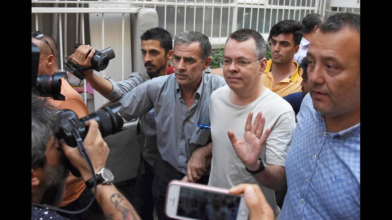 Απέρριψαν οι ΗΠΑ πρόταση της Τουρκίας για απελευθέρωση του Μπράνσον