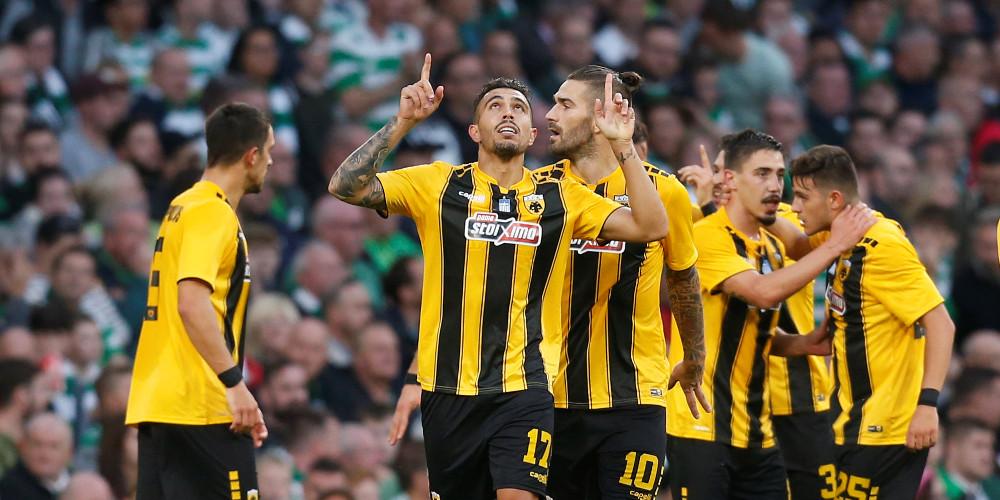 Ελπίδες πρόκρισης για την ΑΕΚ που έφερε ισοπαλία 1-1 με την Σέλτικ
