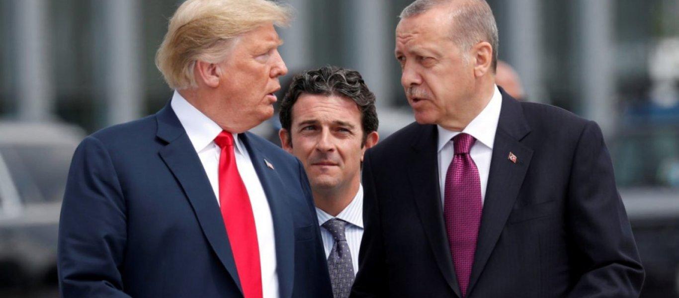 Τραμπ σε Ερντογάν: «Οι συζητήσεις τελείωσαν – Θα ξαναμιλήσουμε όταν ελευθερώσεις τον πάστορα Μπράνσον»