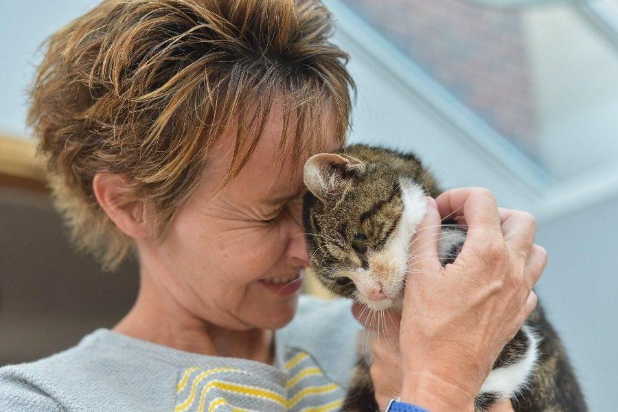 Η γατούλα που γύρισε σπίτι της μετά από 13 χρόνια!