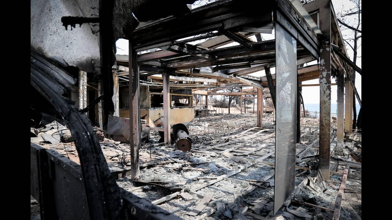 Φωτιά Μάτι: Οι αποζημιώσεις για τα καμένα κτίρια
