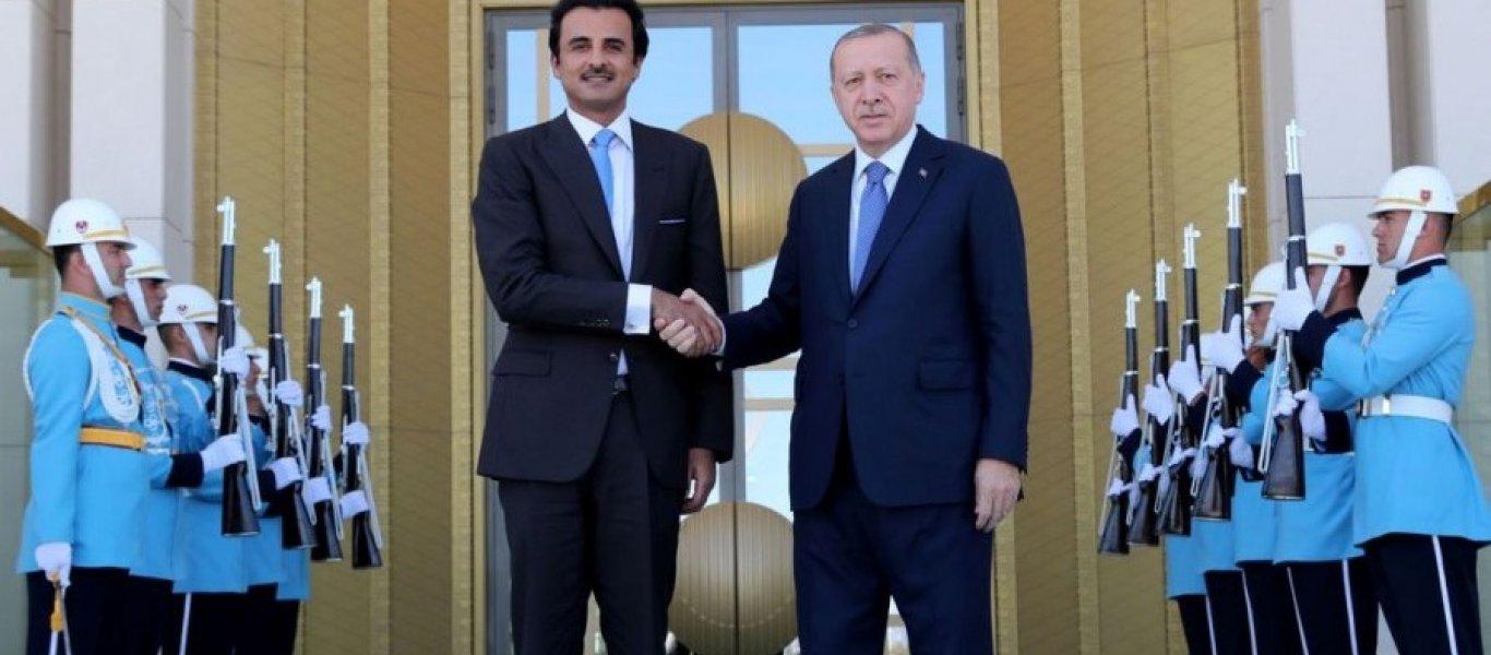 Το Κατάρ διασώζει τη Τουρκία: Εδωσε 15 δισ. δολ. και πήρε το ισόποσο σε… τουρκικές λίρες σήμερα το πρωί!