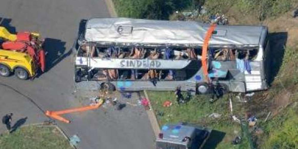 Τρεις νεκροί και 18 τραυματίες σε τροχαίο με τουριστικό λεωφορείο στην Πολωνία