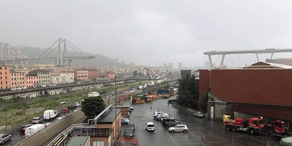 Τουλάχιστον 30 οι νεκροί από την κατάρρευση της γέφυρας στην Γένοβα