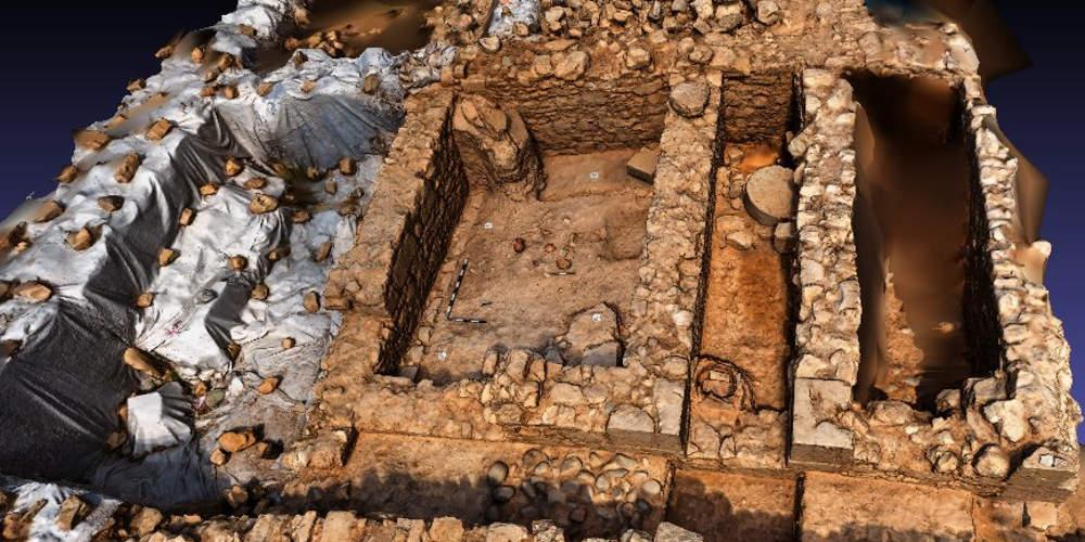 Ανακαλύφθηκε αρχιτεκτονικό σύμπλεγμα του 5ου αιώνα π.Χ. στην Πάφο [εικόνες]