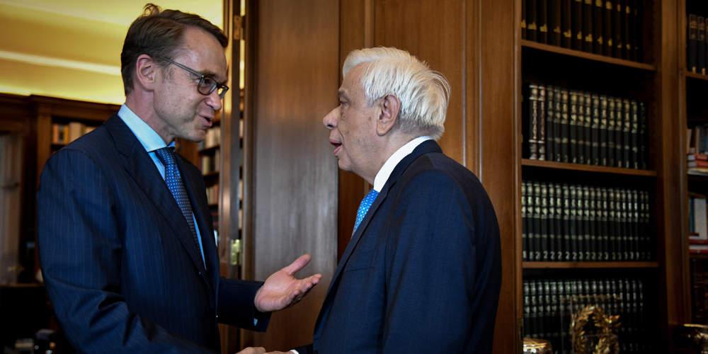 Παυλόπουλος σε Βάιτμαν: Ο λαός πλήρωσε δυσανάλογα για σφάλματα που δεν ήταν δικά του