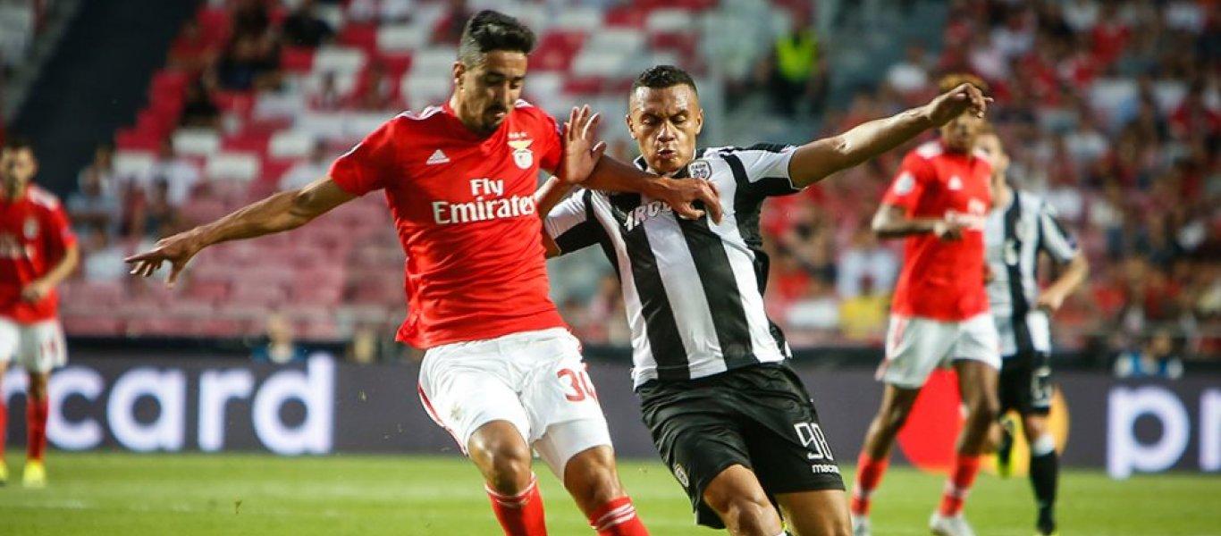 Μπενφίκα-ΠΑΟΚ 1-1 (τελικό)! – Ο δικέφαλος του Βορρά «δάγκωσε» τους αετούς της Λισσαβόνας