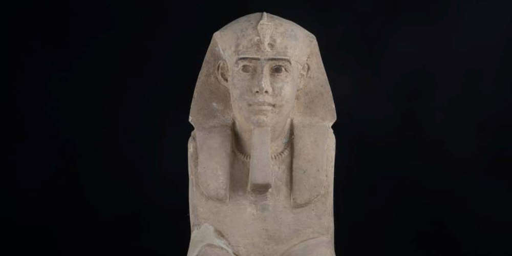 Aνακάλυψαν το άγαλμα Σφίγγας σε ναό στην Αίγυπτο [εικόνα & βίντεο]