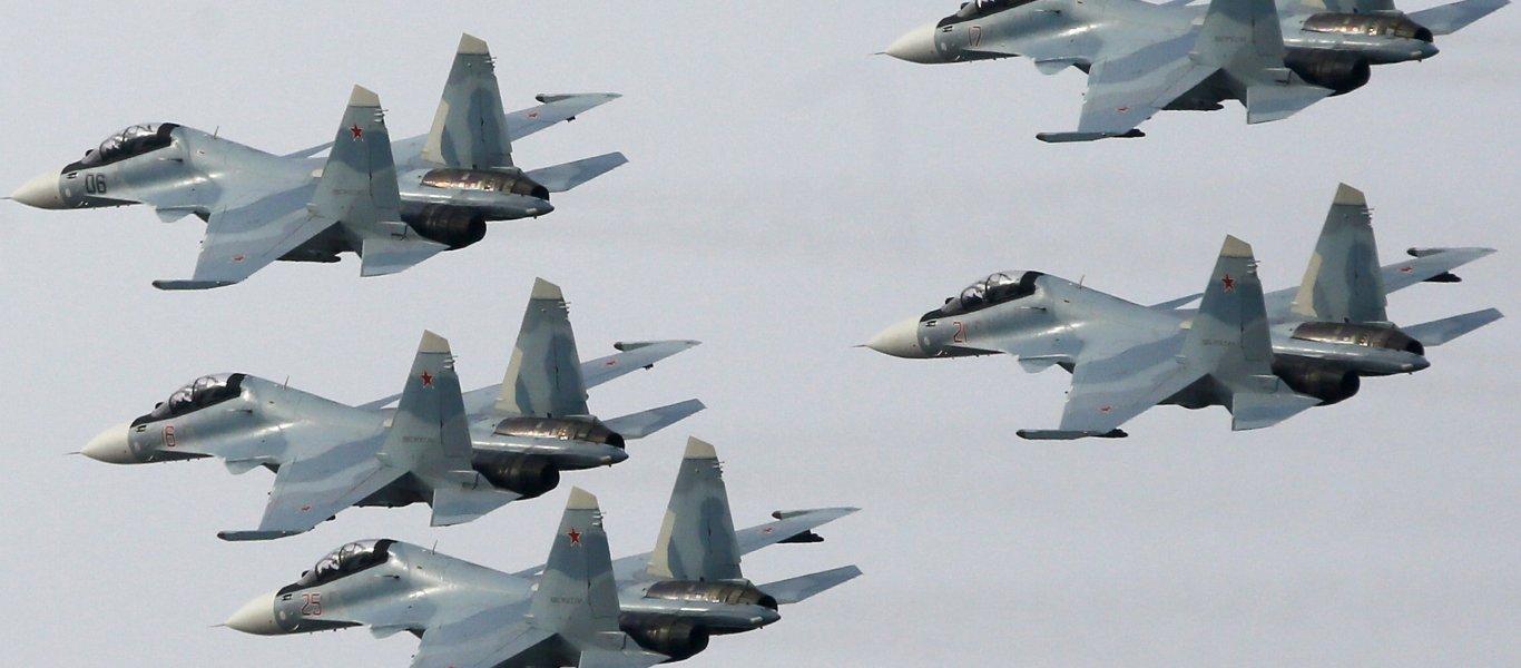 H ρωσική Αεροπορία για 2η ημέρα ισοπεδώνει τους ισλαμιστές – Ο συριακός Στρατός έχει λάβει θέσεις και περιμένει…