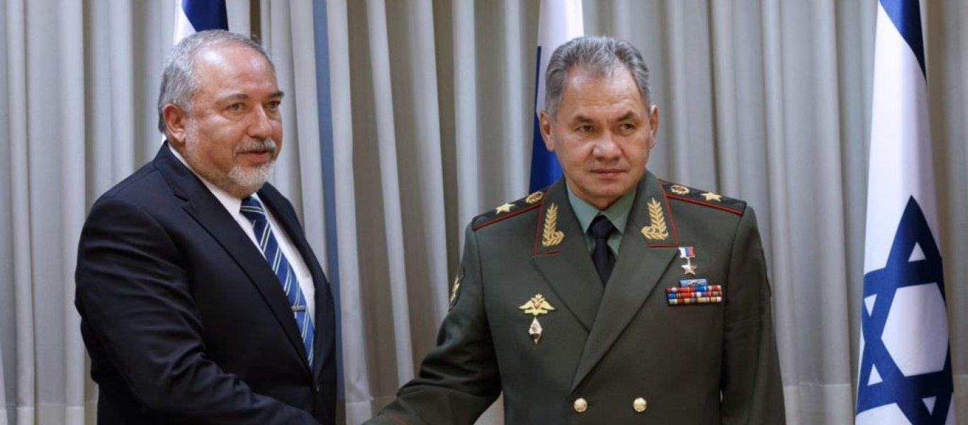 Το Ισραήλ ταπείνωσε την Ρωσία – Θα απαντήσει η Μόσχα; – Τι είπε ο Σοϊγκού στον Λίμπερμαν