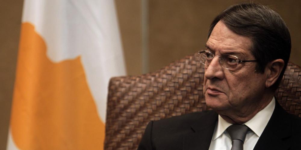 «Φωτιές» άναψε ο χρησμός του Αναστασιάδη για το Κυπριακό