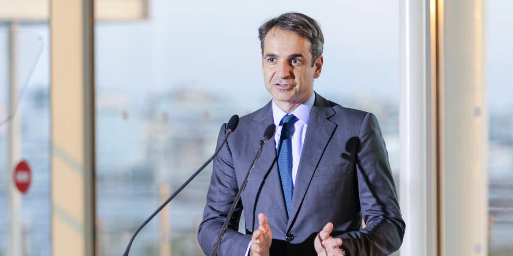 Μητσοτάκης: Μια νέα κυβέρνηση όλων την Ελλήνων για να πάμε τη χώρα μπροστά