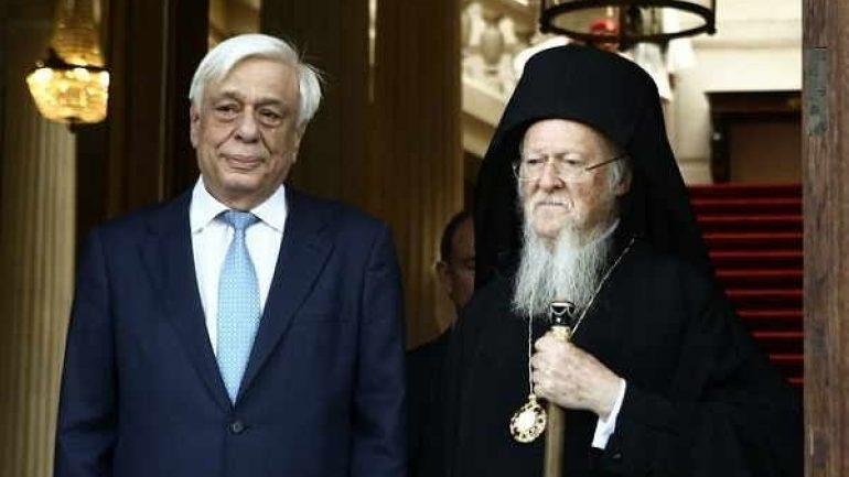 Στην Κρήτη Οικουμενικός Πατριάρχης και Πρόεδρος της Δημοκρατίας!