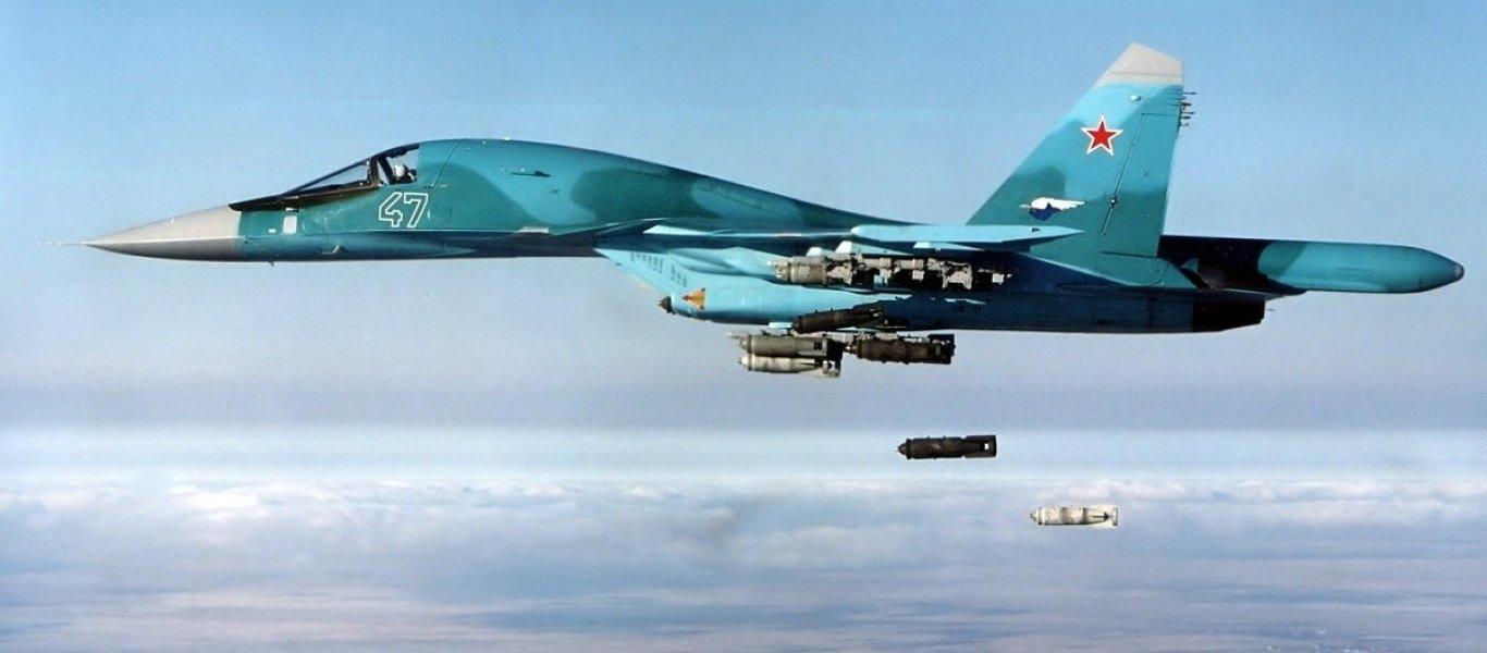 Σε «χαλί» μετατρέπει τα οχυρά των ισλαμιστών στην Ιντλίμπ η ρωσική Αεροπορία: 50 βομβαρδισμοί μόνο σήμερα