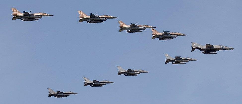 Εναέριο «τείχος» στο Αιγαίο από Ελλάδα-Ισραήλ – 11 Ισραηλινά F-16 στην 110 ΠΜ – Η Τουρκία «χαλυβδώνει» την συμμαχία Αθήνας-Τελ Αβίβ