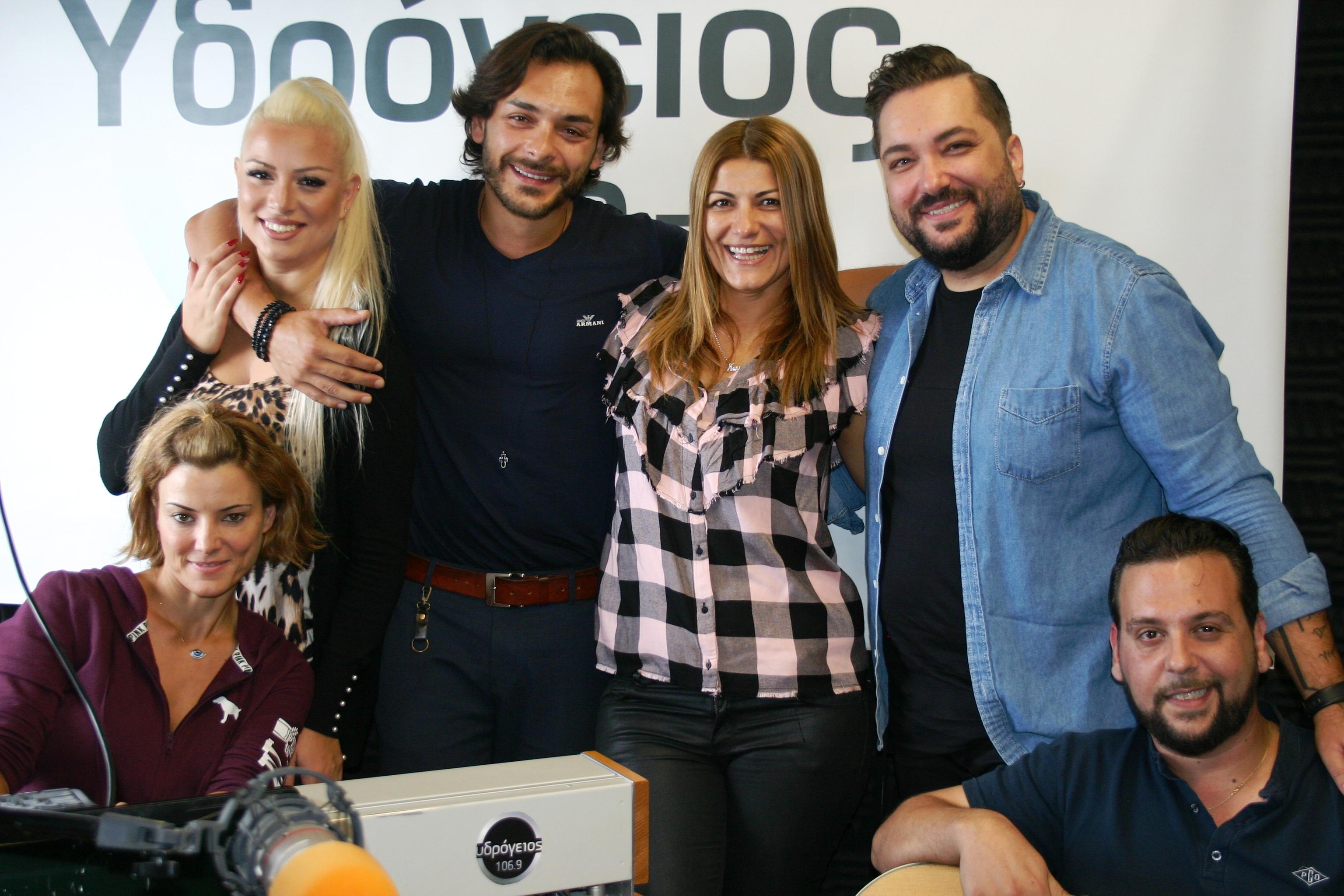 Η αγαπημένη φωνή της Κρήτης Γιάννης Καράμαλης ήρθε στα studio του Υδρόγειος 106,9