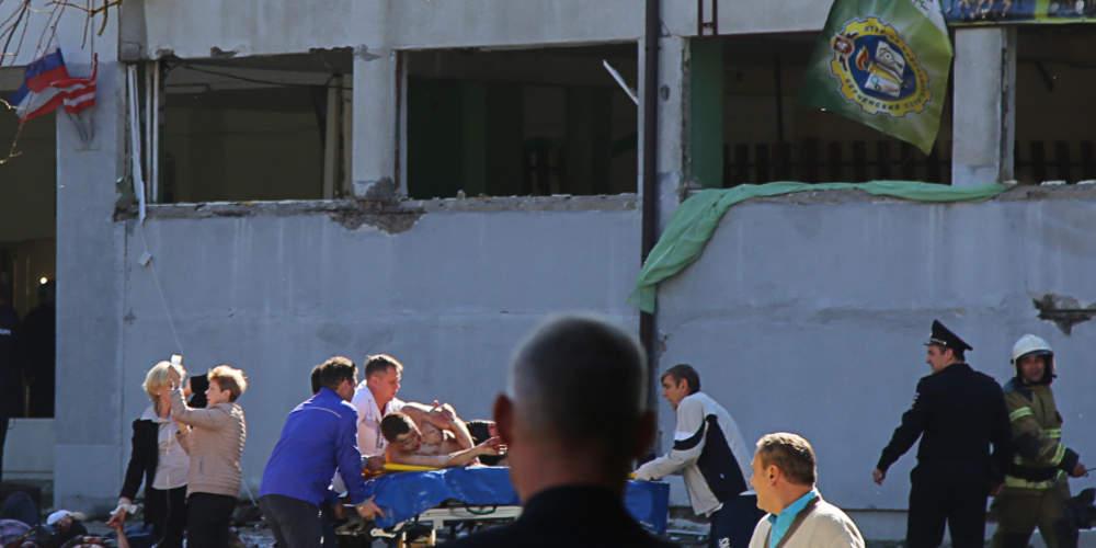 Τουλάχιστον 19 οι νεκροί από την επίθεση σπουδαστή σε σχολή της Κριμαίας [βίντεο]