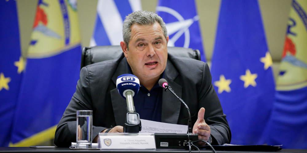 Καμμένος στις ΗΠΑ: Η Ελλάδα έδειξε την καλή της θέληση στο Σκοπιανό