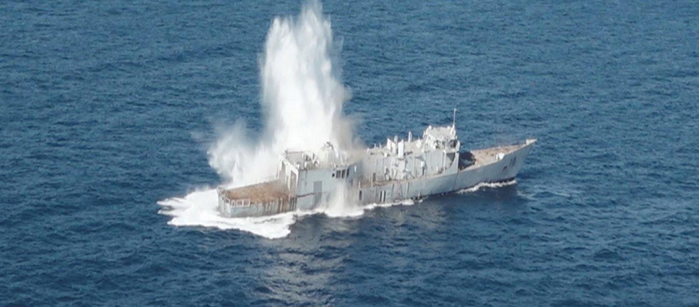 ΑΠΟΚΛΕΙΣΤΙΚΟ: Ασκηση προσομοίωσης τορπιλισμού των ελληνικών φρεγατών από το τουρκικό Ναυτικό γύρω από το Barbaros!