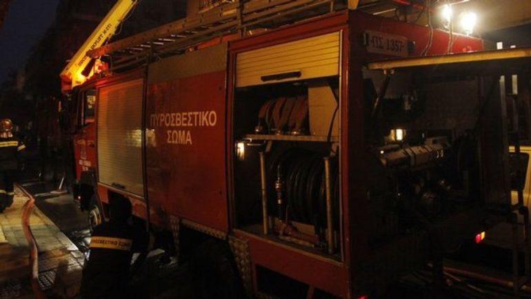 Η φωτιά στο εστιατόριο προκάλεσε αναστάτωση