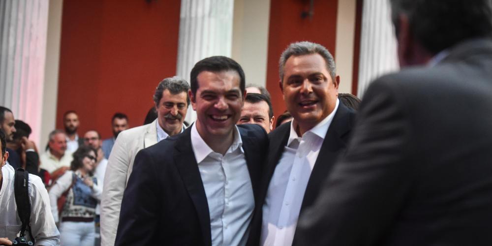 Τσίπρας σε Καμμένο: Δεσμεύσου ότι δεν θα ρίξεις την κυβέρνηση για το Σκοπιανό