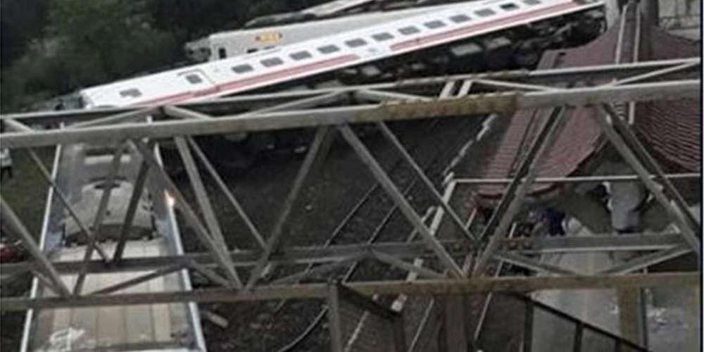 Τραγωδία στη Ταϊβάν: Tουλάχιστον 22 νεκροί από τον εκτροχιασμό τρένου
