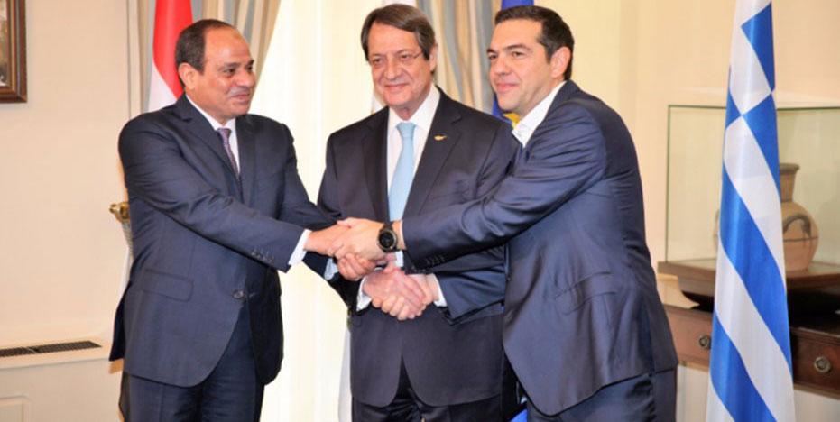 Αρχίζουν οι εργασίες της τριμερούς Ελλάδας – Κύπρου – Αιγύπτου