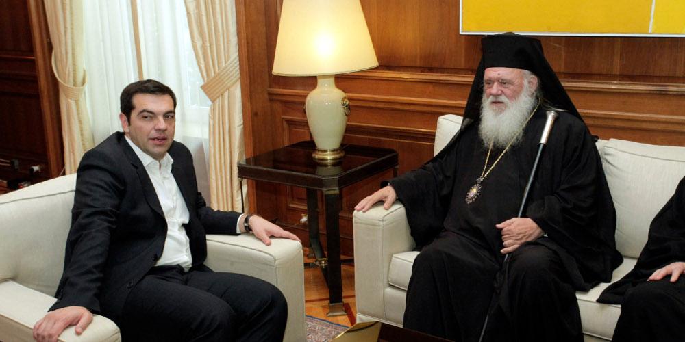 «Άνοιγμα» Τσίπρα στην εκκλησία: Μυστική συνάντηση με τον Αρχιεπίσκοπο Ιερώνυμο – Τι συζήτησαν