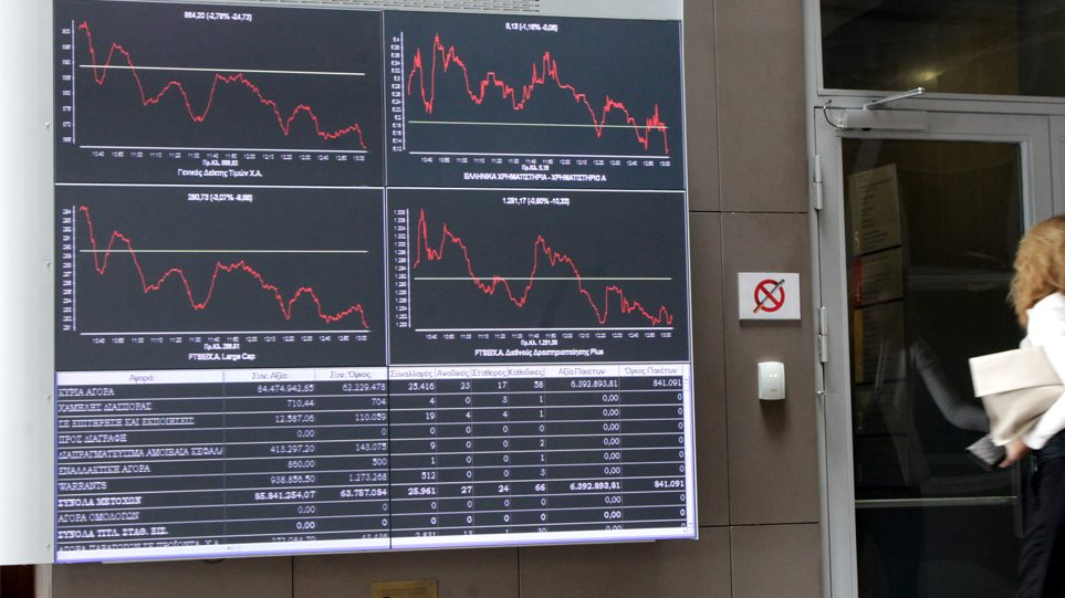 Χρηματιστήριο Αθηνών: Με άνοδο ς 0,66% ξεκίνησε η νέα εβδομάδα