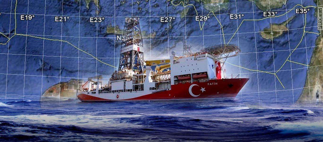 H Άγκυρα κλιμακώνει την ένταση στο οικόπεδο 4 της κυπριακής ΑΟΖ: Τουρκικό E-7A επιτηρεί την εισβολή του Barbaros