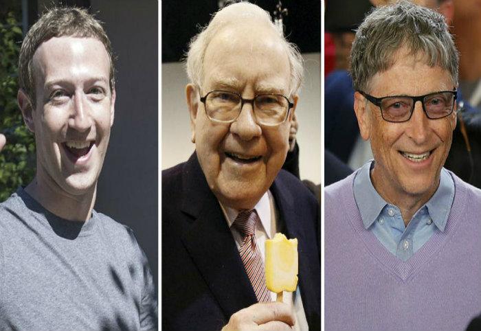 Πόσα χρήματα κερδίζουν κάθε ώρα οι μεγιστάνες του κόσμου. Ακόμα και ο τελευταίος της λίστας θεωρείται βαθύπλουτος!
