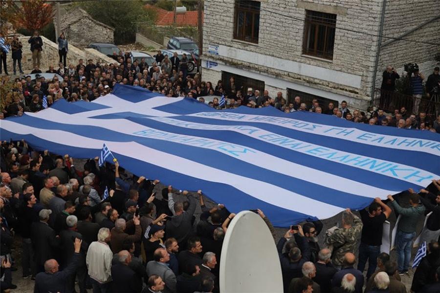 Παρούσα η Χρυσή Αυγή στην κηδεία του Κωνσταντίνου Κατσίφα