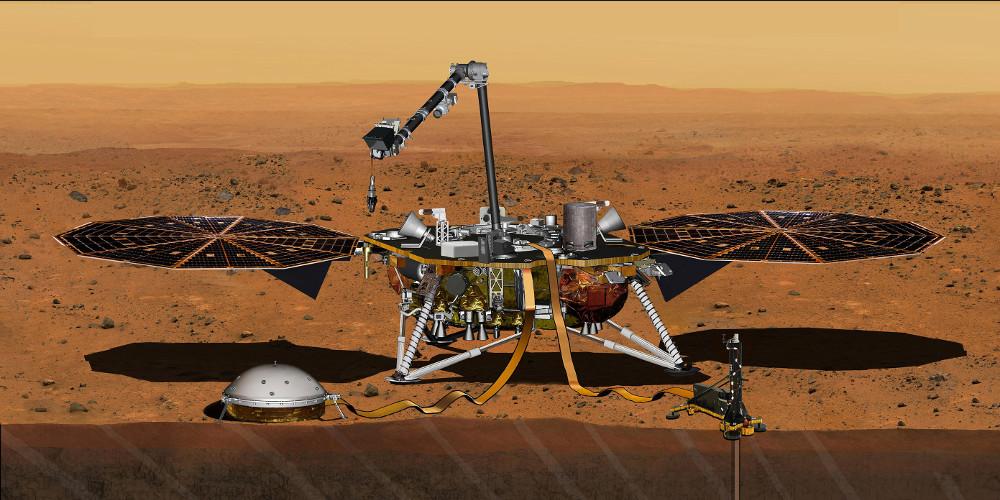 Δείτε το LIVE Το νέο μεγάλο βήμα για την ανθρωπότητα: Έτοιμο για προσεδάφιση στον Άρη το InSight