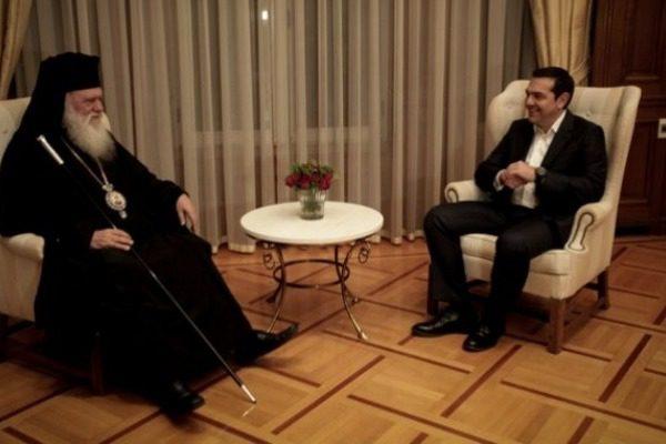 Έκτακτο: Συμφωνία Τσίπρα-Ιερώνυμου για το διαχωρισμό Εκκλησίας-Κράτους