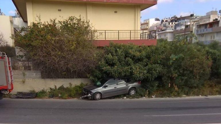 Νέο τροχαίο ατύχημα!