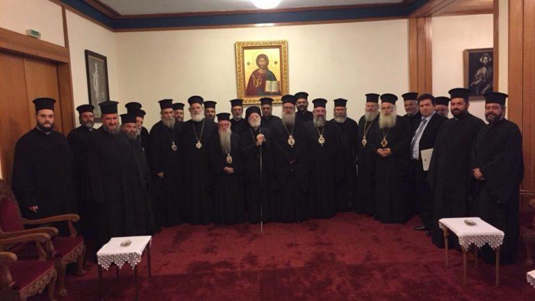 Στο Φανάρι αντιπροσωπεία ιεραρχών της Κρήτης για τη Συνταγματική αναθεώρηση