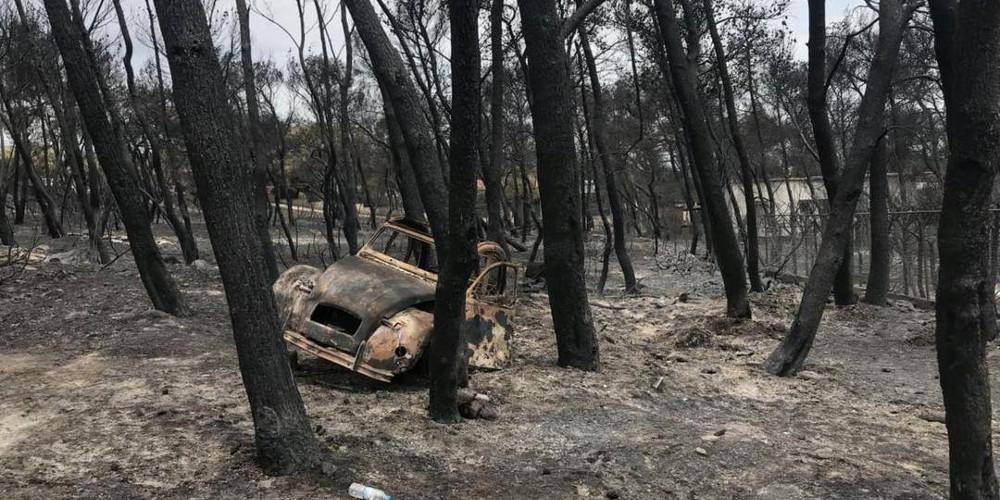 Πυρκαγιά στο Μάτι: Στους 100 οι νεκροί μετά το θάνατο 73χρονου εγκαυματία