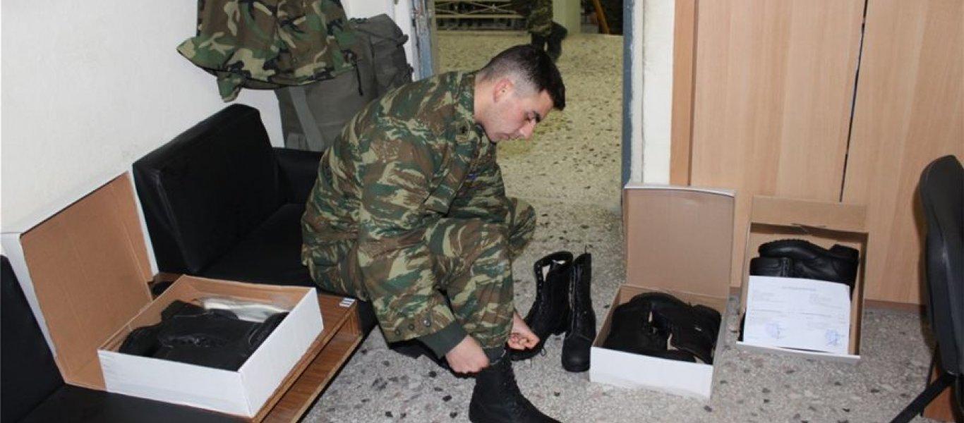 Ελληνικά… «εξοπλιστικά» προγράμματα: 20.000 άρβυλα «ελληνικής παραγωγής» παραδόθηκαν στον Στρατό