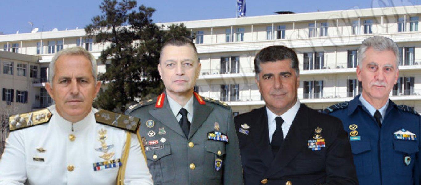 Κρίσεις Αρχηγών στις Ενοπλες Δυνάμεις προ των πυλών: Ζητούνται ηγέτες…