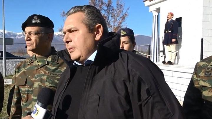 Αυστηρό μήνυμα Καμμένου στα Σκόπια: Όσο προκαλούν η πόρτα της Ελλάδας θα είναι κλειστή – ΒΙΝΤΕΟ
