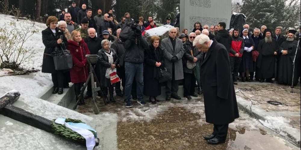 Παυλόπουλος για την «μαύρη» επέτειο του Ολοκαυτώματος των Καλαβρύτων: Δεν ξεχνάμε. Ποτέ ξανά