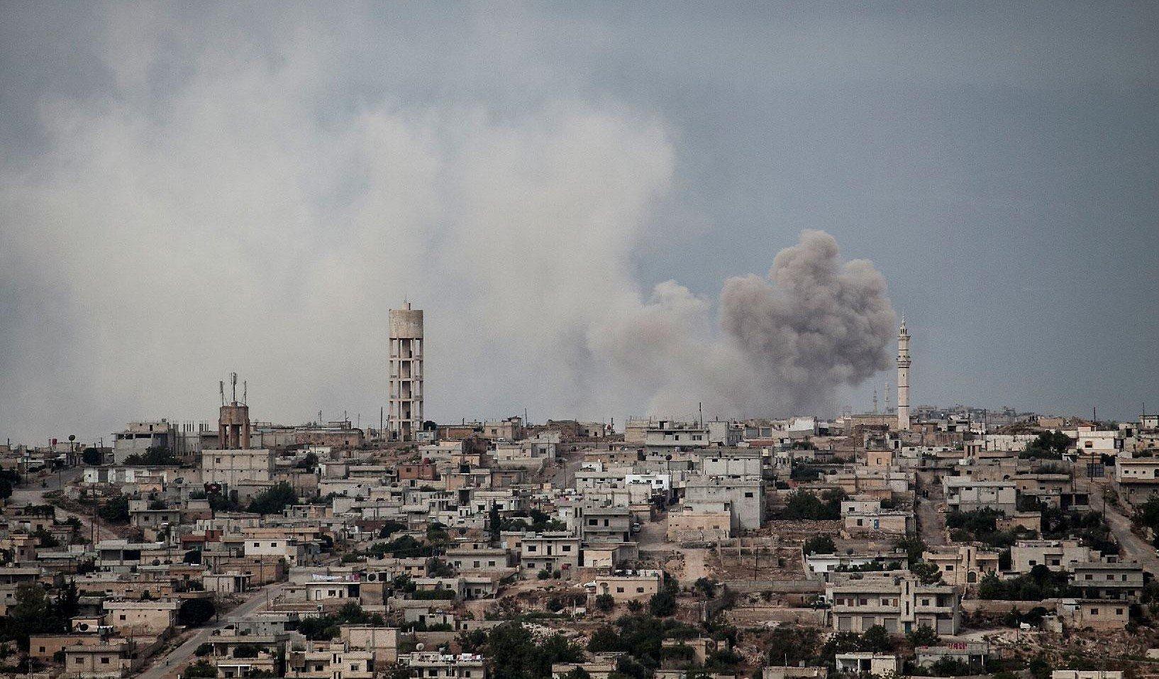 ΕΚΤΑΚΤΗ ΕΙΔΗΣΗ: Οι Ρώσοι βομβάρδισαν την Ιντλίμπ: Καταιγισμός πυρών σε θέσεις τζιχαντιστών – Πολύ κοντά στα τουρκικά σύνορα η επίθεση