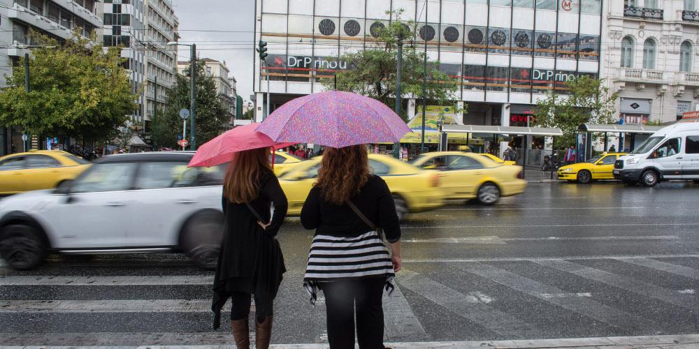 Πρόγνωση καιρού: Τοπικές βροχές και σποραδικές καταιγίδες την Δευτέρα