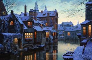 Μπριζ: Μια μεσαιωνική λιλιπούτεια πόλη με σπάνια παραμυθένια ομορφιά